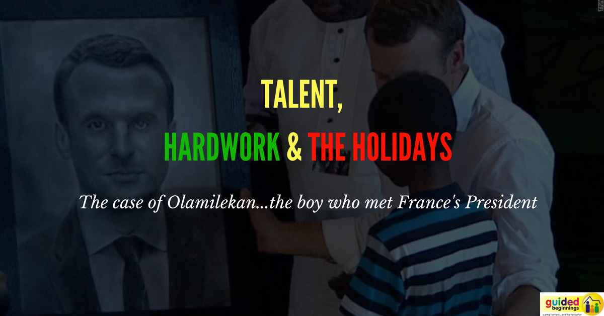 Talent, Hardwork & the Holiday